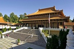 Buddhist temple in California