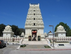 Hindu temple in California