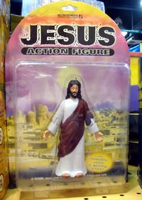 Jefus Action Figure - with poseable arms and gliding action!