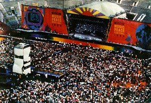 Moscow Music Peace Festival on August 12-13, 1989