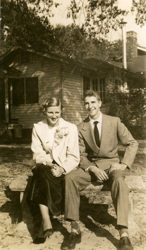 Stephen's parents ca. 1950